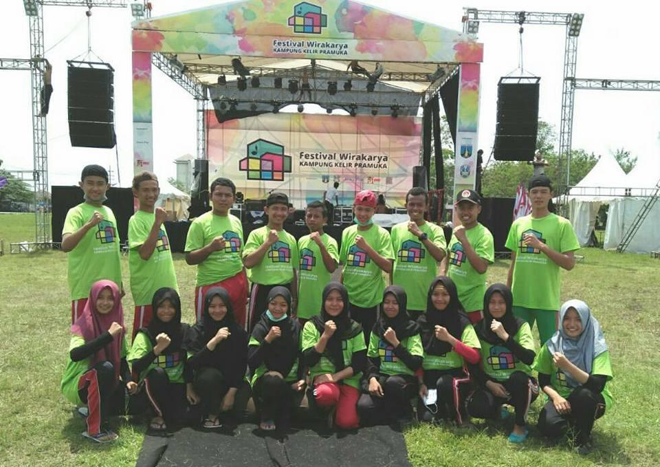 Ratusan Anggota Pramuka Penegak Ikut Serta Perkemahan Wirakarya Pramuka Festifal Kampung Kelir 2017