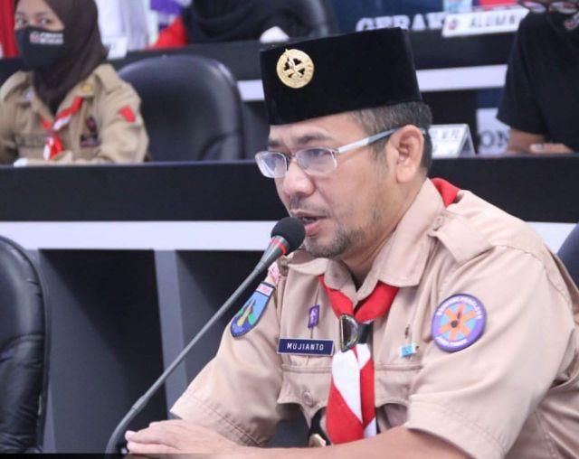 Kwarcab Gerakan Pramuka Kota Blitar Tetap Aktif Ditengah Pandemi Covid-19