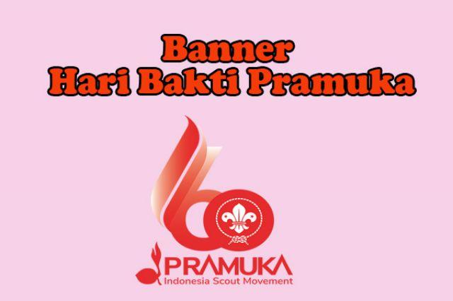 Banner Hari Pramuka ke 60 Silahkan diunduh disini.