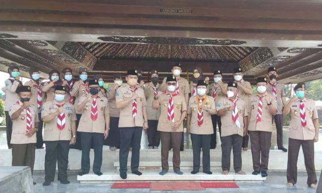 Peringati Hari Pramuka Ke-60, Wakil Ketua Kwarda Jatim Ajak Teladani Semangat Nasionalisme Bung Karno